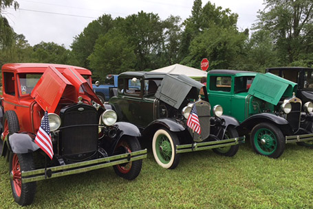antique car show franklin nc