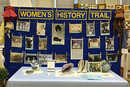 womens history trail franklin nc