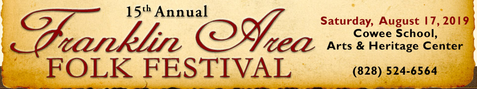 franklin folk festival north carolina